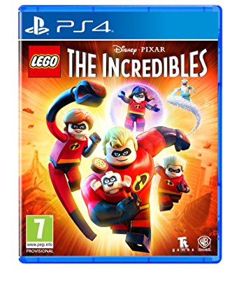 Warner Bros LEGO The Incredibles PS4 Playstation 4 Game