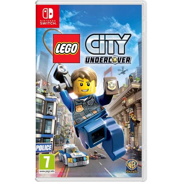 Warner Bros Lego City Undercover Nintendo Switch Game