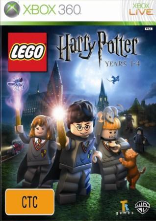 Warner Bros Lego Harry Potter Years 1-4 Xbox 360 Game