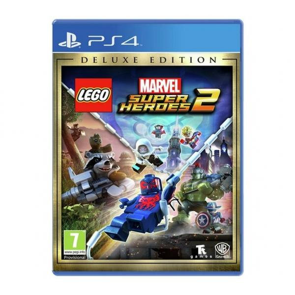 Warner Bros Lego Marvel Superheroes 2 Deluxe Edition PS4 Playstation 4 Game
