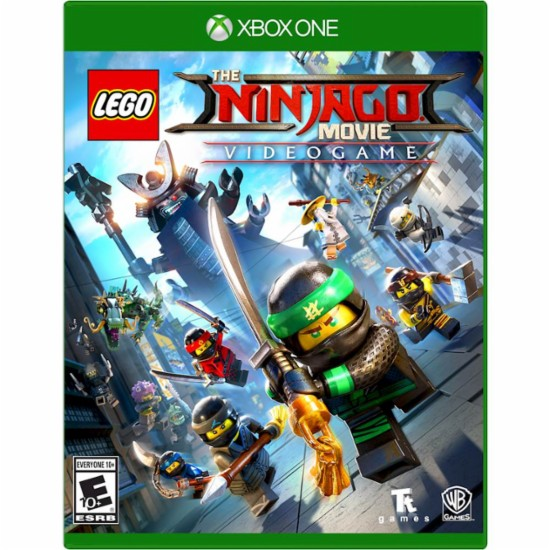 Warner Bros Lego Ninjago Movie Video Game Xbox One Game