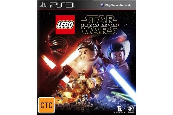 Warner Bros Lego Star Wars The Force Awakens PS3 Playstation 3 Game