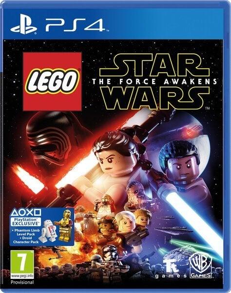 Warner Bros Lego Star Wars The Force Awakens PS4 Playstation 4 Game