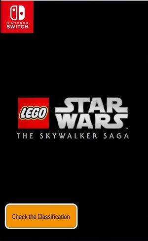 Warner Bros Lego Star Wars The Skywalker Saga Nintendo Switch Game