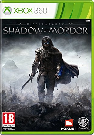 Warner Bros Middle Earth Shadow of Mordor Xbox 360 Game