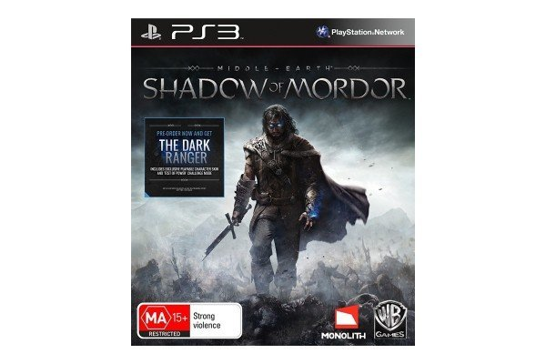 Warner Bros Middle Earth Shadow of Mordor PS3 Playstation 3 Game
