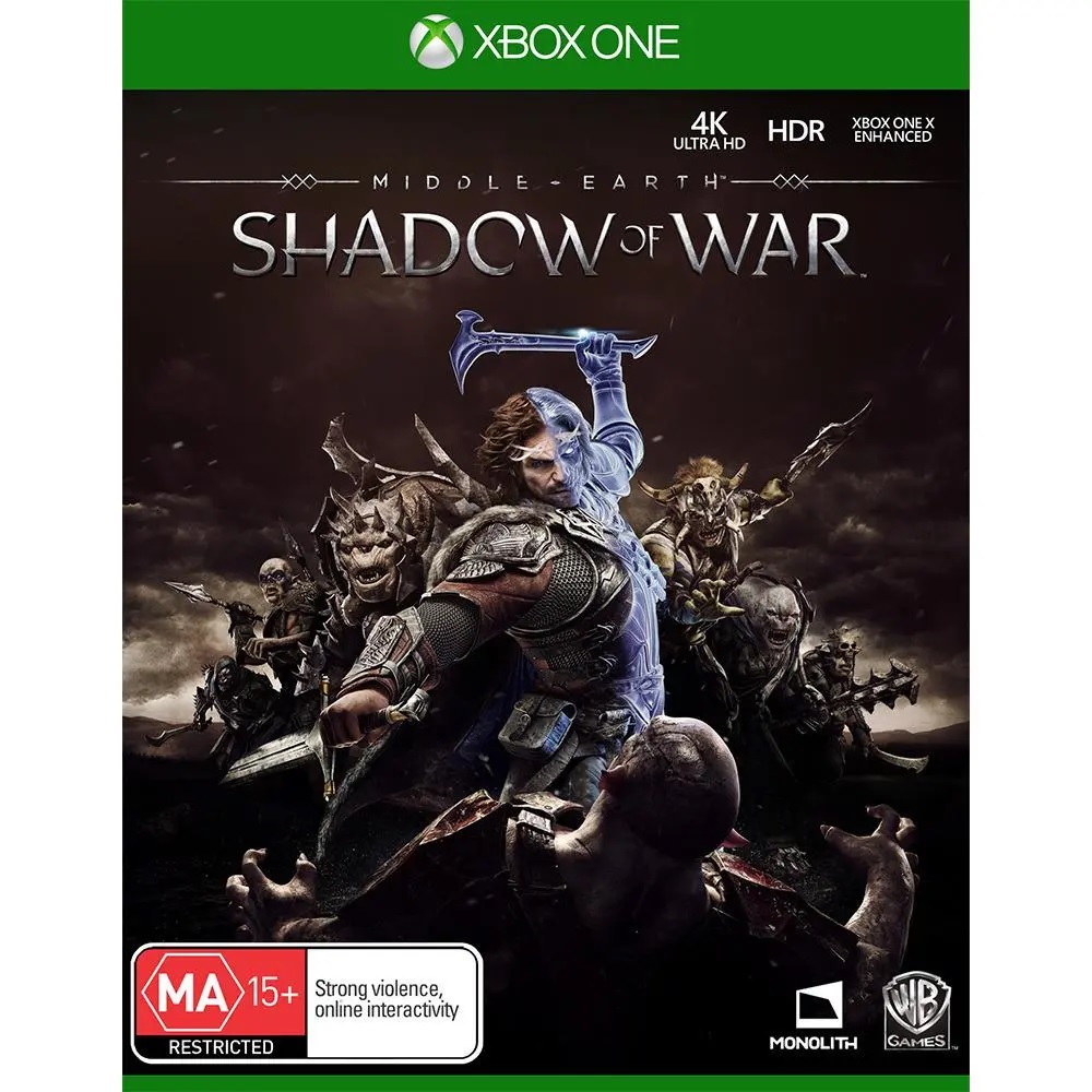 Warner Bros Middle earth Shadow of War Xbox One Game