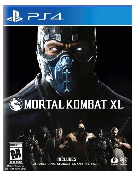 Warner Bros Mortal Kombat XL PS4 Playstation 4 Game