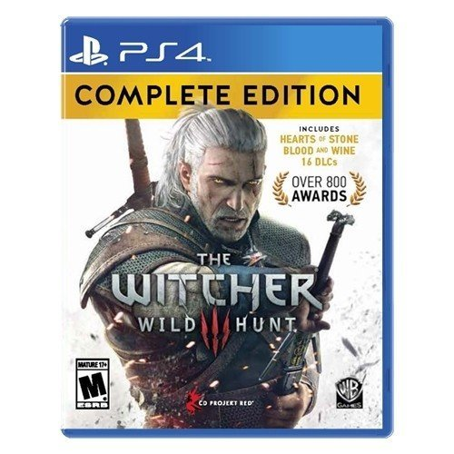 Warner Bros The Witcher 3 Wild Hunt Complete Edition PS4 Playstation 4 Game