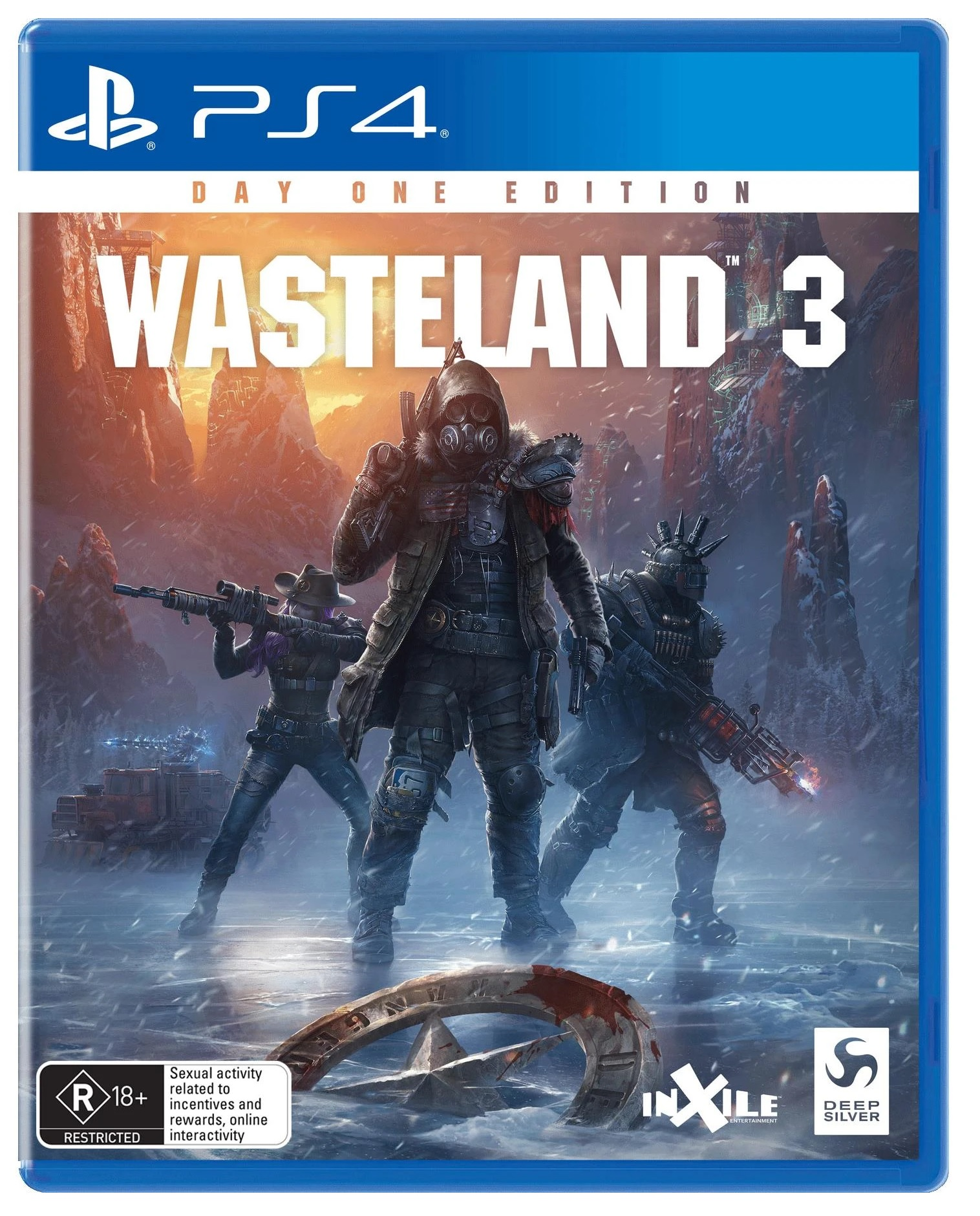 Deep Silver Wasteland 3 Day One Edition PS4 Playstation 4 Game