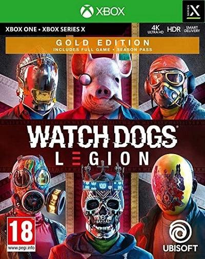Ubisoft Watch Dogs Legion Gold Edition Xbox X Game