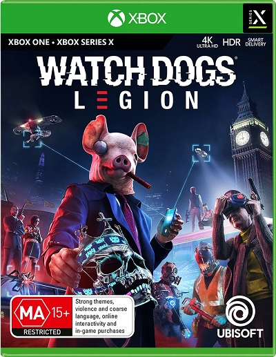 Ubisoft Watch Dogs Legion Refurbished Xbox Series X Game