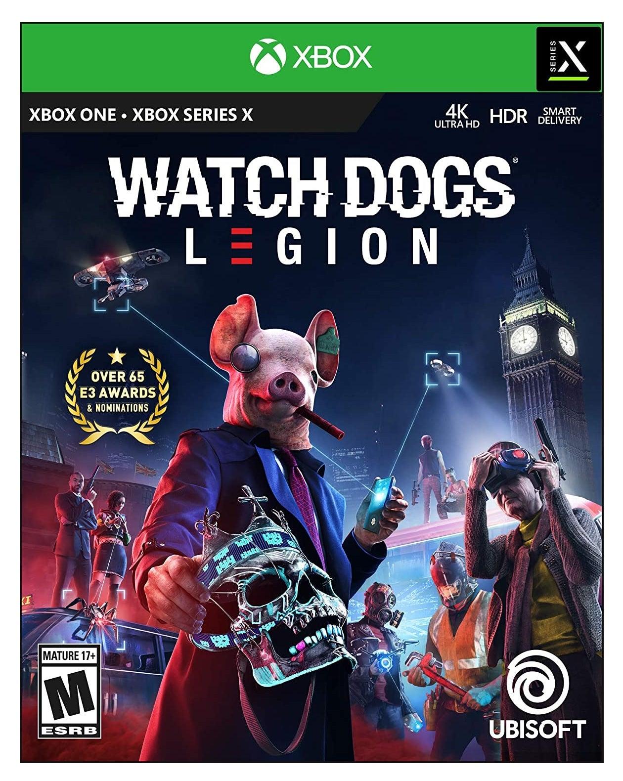 Ubisoft Watch Dogs Legion Xbox Series X Games
