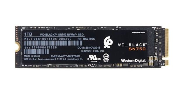 Western Digital Black SN750 Solid State Drive