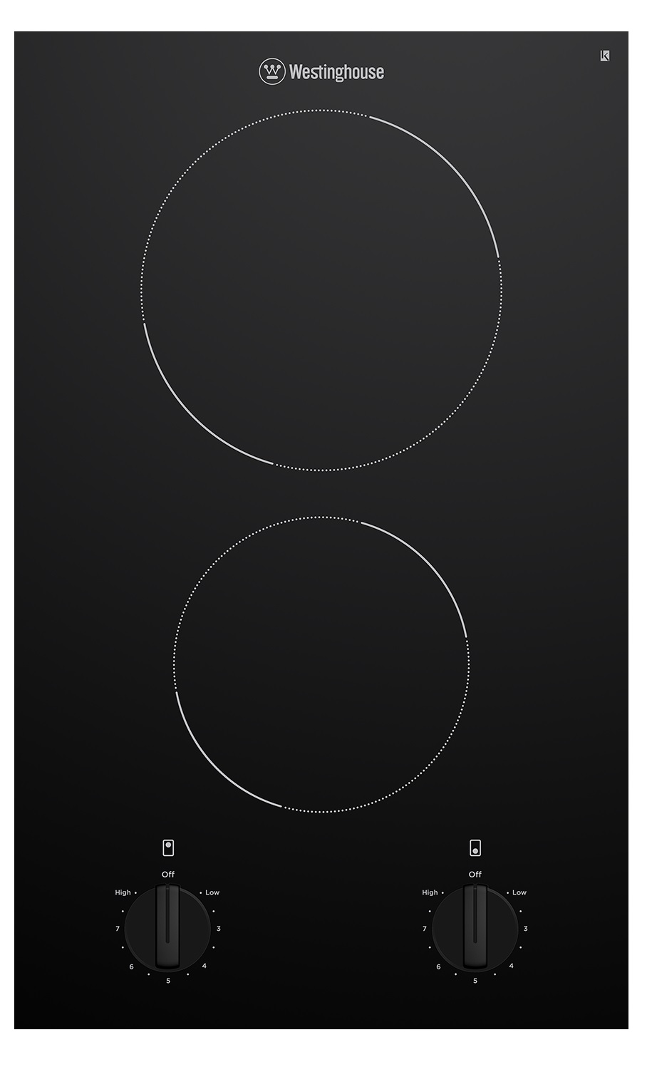 Westinghouse WHC322BC Kitchen Cooktop