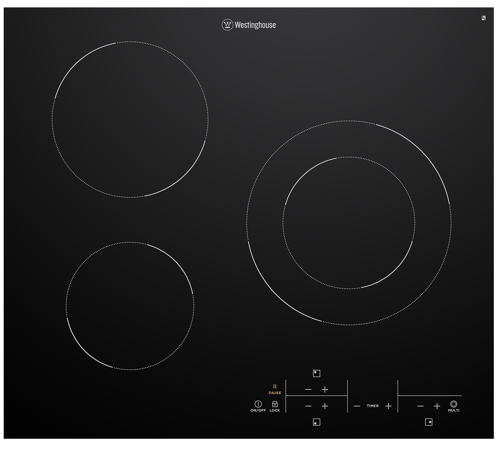 Westinghouse WHC633BC Kitchen Cooktop