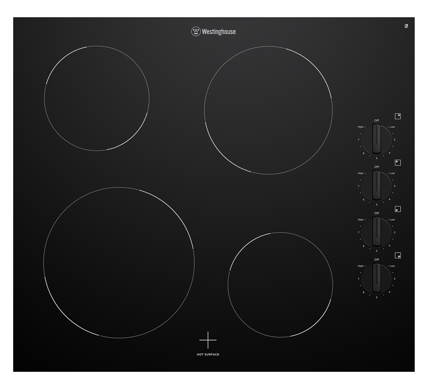 Westinghouse WHC642BC Kitchen Cooktop