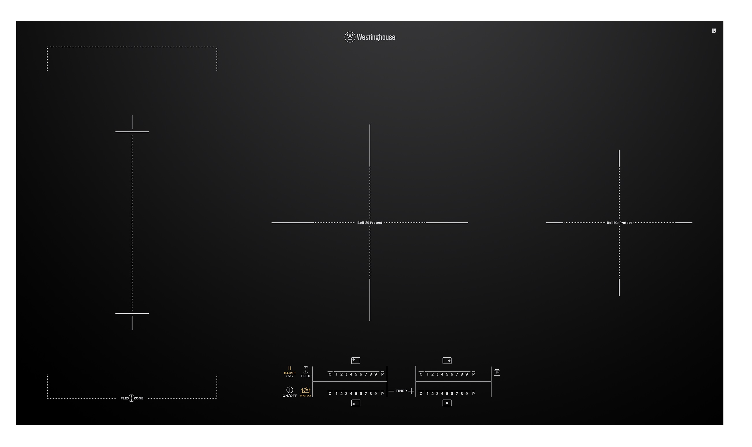 Westinghouse WHI945BC Kitchen Cooktop