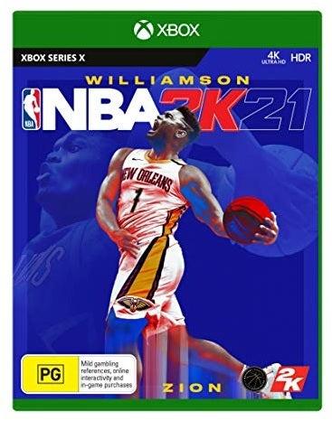 2k Sports Williamson NBA 2K21 Xbox X Game