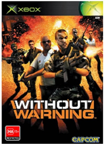Capcom Without Warning Xbox Game