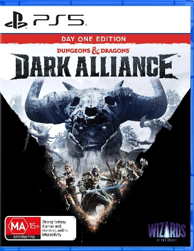 Wizards Of The Coast Dungeons And Dragons Dark Alliance Day One Edition PS5 PlayStation 5 Game