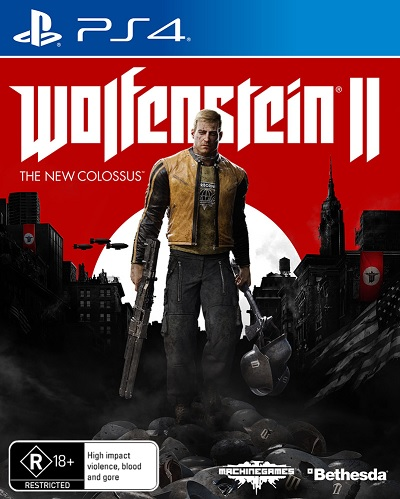 Bethesda Softworks Wolfenstein II The New Colossus Refurbished PS4 Playstation 4 Game