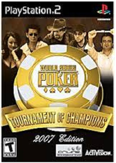 Activision World Series of Poker Tournament of Champions 2007 Edition PS2 Playstation 2 Game