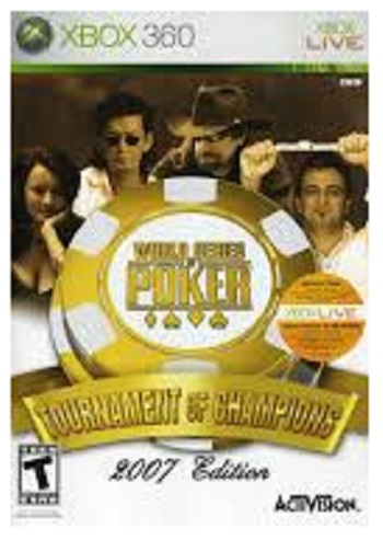 Activision World Series of Poker Tournament of Champions 2007 Edition Xbox 360 Game