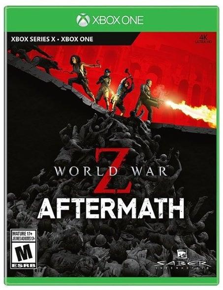 Saber World War Z Aftermath Xbox One Game