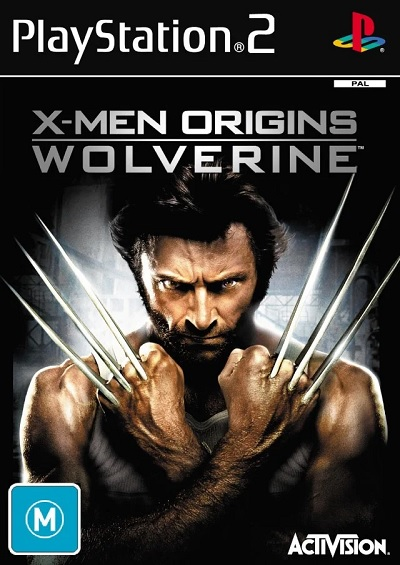 Activision XMen Origins Wolverine Refurbished PS2 Playstation 2 Game