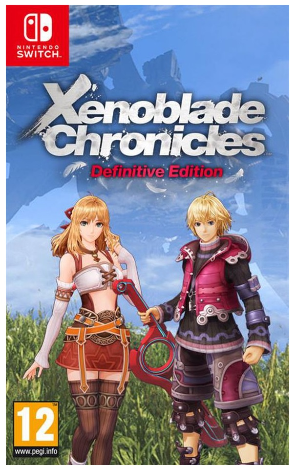 Nintendo Xenoblade Chronicles Definitive Edition Nintendo Switch Game