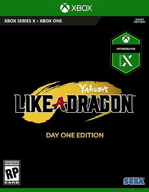 Sega Yakuza Like A Dragon Day One Edition Xbox One Game
