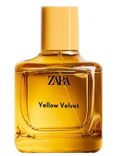 Zara Yellow Velvet 2021 Women's Perfume