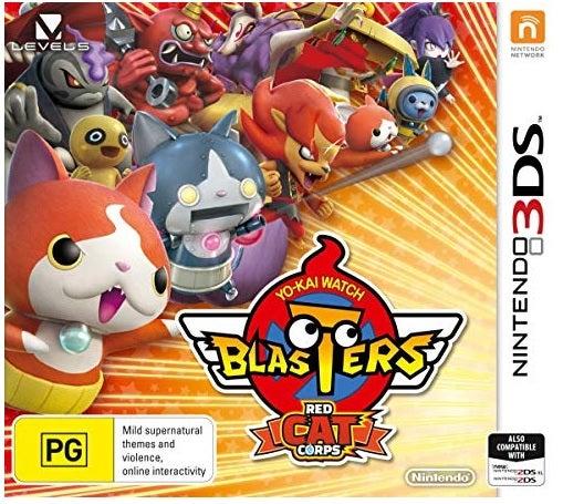 Nintendo YoKai Watch Blasters Red Cat Corps Nintendo 3DS Game