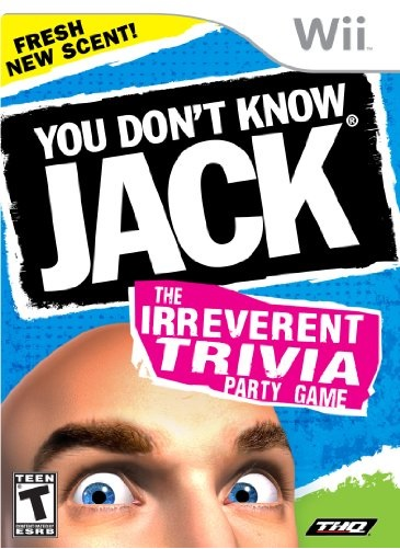 Jackbox Games You Dont Know Jack Nintendo Wii Game