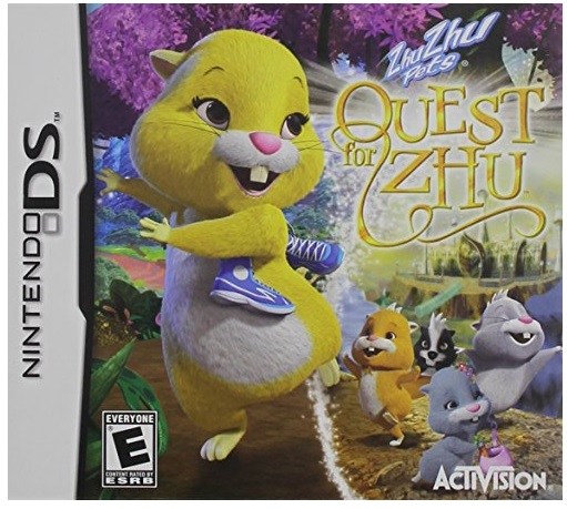Activision Zhu Zhu Pets Quest For Zhu Nintendo DS Game