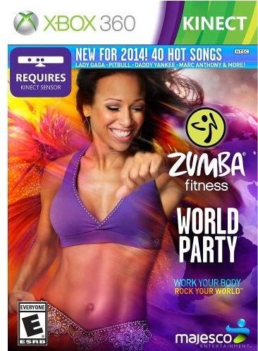 Majesco Zumba Fitness World Party Xbox 360 Game