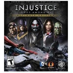Warner Bros Injustice Gods Among Us Ultimate Edition PS4 Playstation 4 Games