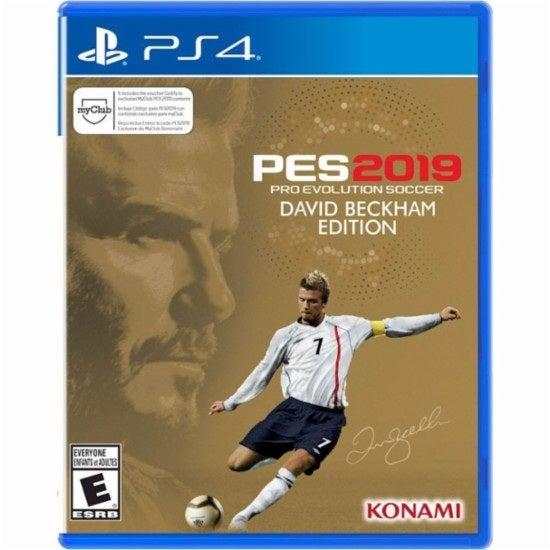 konami PES 2019 Pro Evolution Soccer David Beckham Edition PS4 Playstation 4 Game