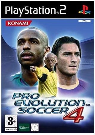 Konami Pro Evolution Soccer 4 PS2 Playstation 2 Game