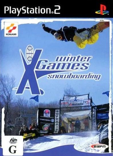 konami Winter X Games Snowboarding PS2 Playstation 2 Game