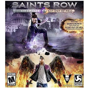 Deep Silver Saints Row IV Re Elected & Gat Out of Hell PS4 Playstation 4 Games