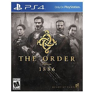Sony The Order 1886 PS4 Playstation 4 Games