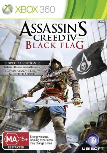 Ubisoft Assassins Creed 4 Black Flag Special Edition Xbox 360 Game