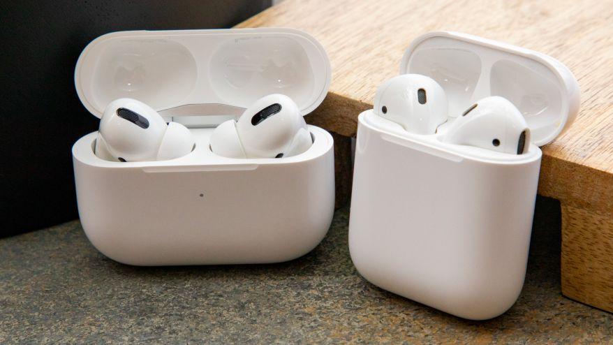 Apple AirPods comparison