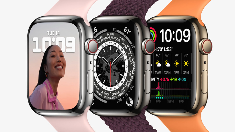 Apple Watch 7 is now official