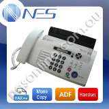 Brother FAX878 Fax Machine + Telephone Handset + Mono Copy + ADF + DUET CALLER ID (Factory Refurb)[FAX-878-RFB]