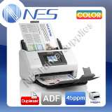 Epson DS-780N Color Network Sheet Feed A4 Document Scanner+One Pass Duplex 45PPM