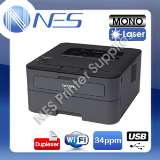 Brother HL-L2375DW Mono Laser Wireless USB B W Printer+Auto Duplex TN-2430 [33]