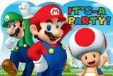 Super Mario Bros Invitations Pk 8